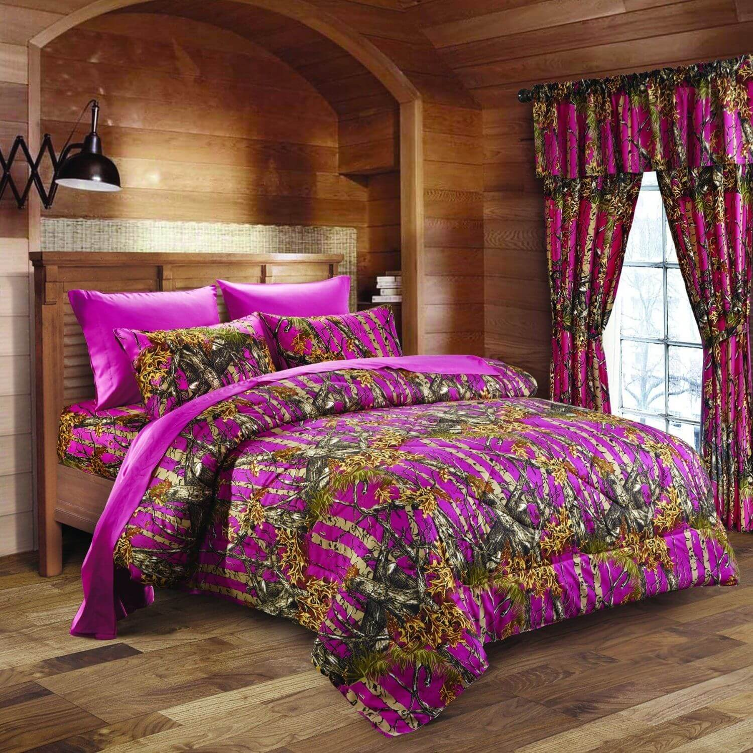 Superieur Hot Pink Camo Bed In A Bag Set